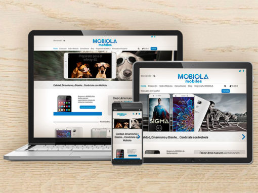 E-commerce – Wooocommerce Mobiola WordPress Project
