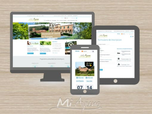 Mi Ayuno Project – Multilanguage Website