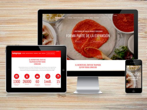 Telepizza WordPress Project