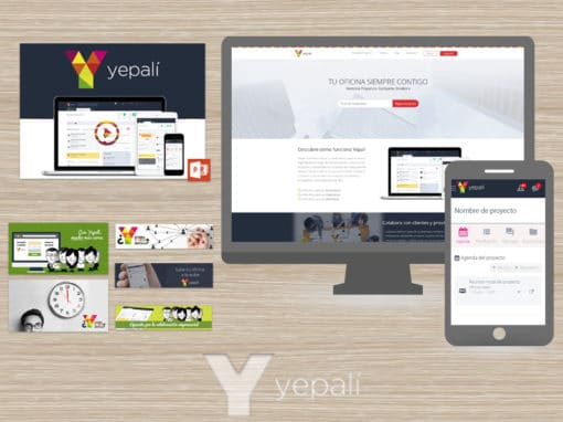 Yepali Project – Corporative Website